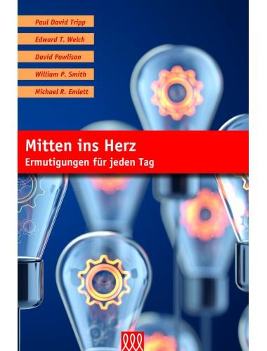 Hardcover mit Leseband - Mitten ins Herz